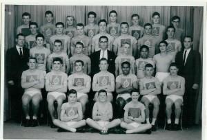 Athletics Team 1962 Winners
