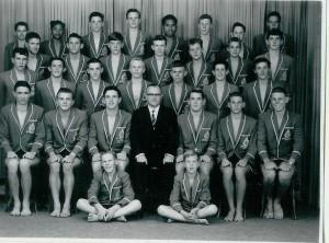 Swimming Team 1962